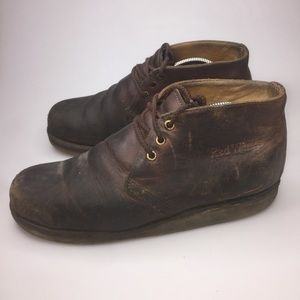 Red Wing Chukka Boots 2595 Work Boots Worn 9.5
